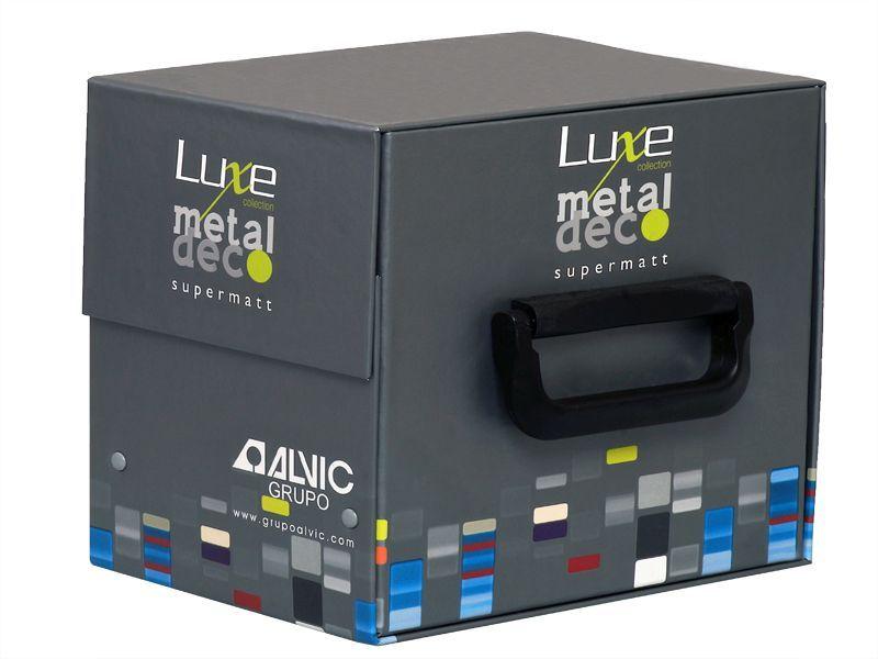Комплект образцов матов. плит LUXE MetalDeco, 18*220*165 мм, ABS кр. (6 шт.)