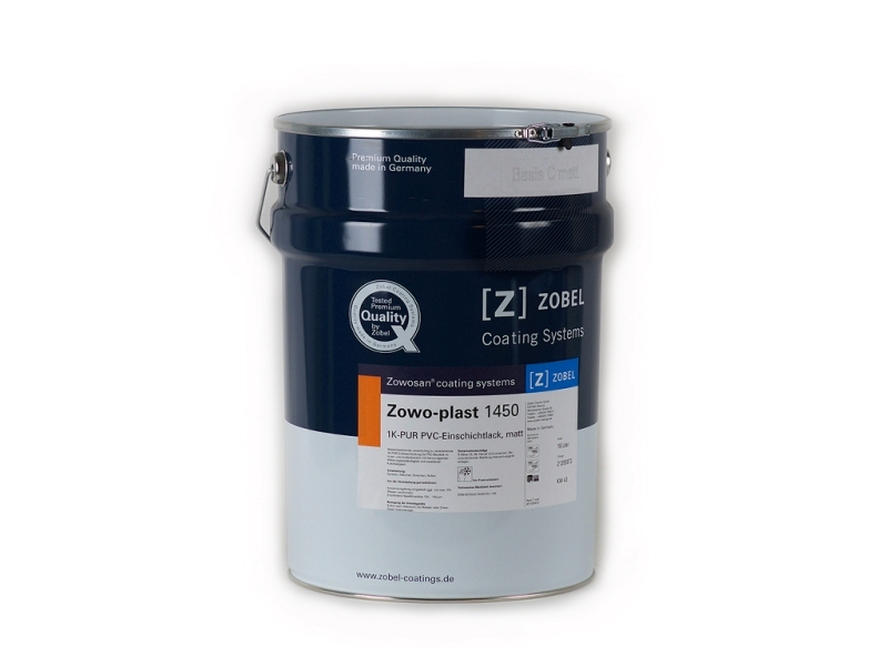 Краска для ПВХ глянцевая Zowo-plast 1450, база под колеровку