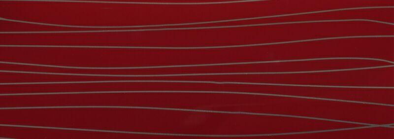 AGT Плита МДФ глянец бордо серебро, 1220*18*2795 мм