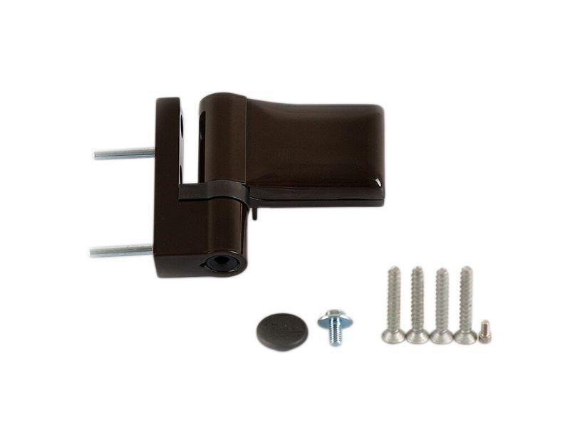 Петля Maxbar KT-SN наплав 15-20мм, коричневая