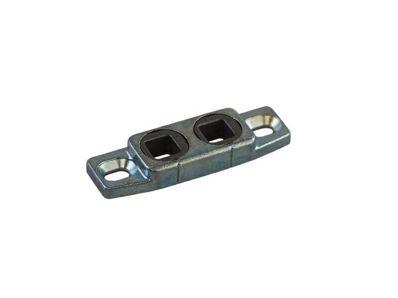 Планка ответная ригельная V A0760 для деревянных окон, глянцевый фальц для ББ TS