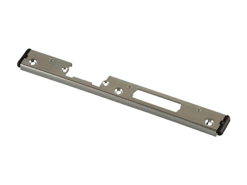 Планка ответная для ригиля и защелки, левая 25-853EL, Aluplast Ideal 3000, оцинкованная
