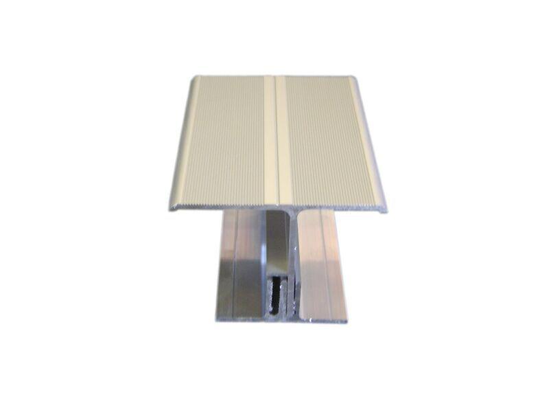 Т-профиль алюминиевый комплект (2 проф) для стыков серебристый (024) 4,0 м
