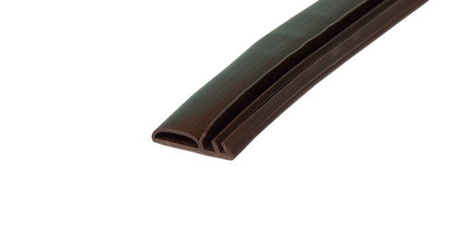 DEVENTER Уплотнитель для дверей M 7256 темно-коричневый