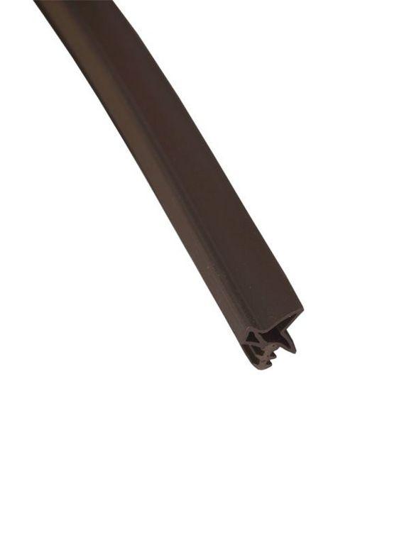 DEVENTER Уплотнитель для дверей S6577 темно-коричневый