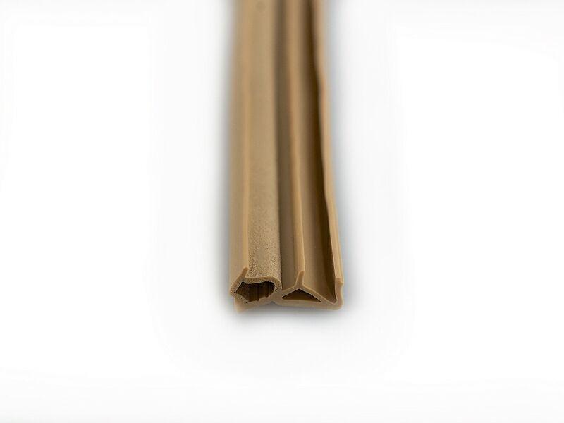 DEVENTER Уплотнитель для деревянных окон SP1212 бежевый