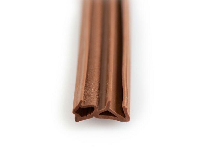 DEVENTER Уплотнитель для деревянных окон SP1212 коричневый
