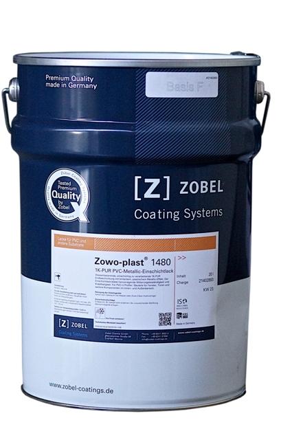 Краска-металлик для ПВХ Zowo-plast 1480, база под колеровку