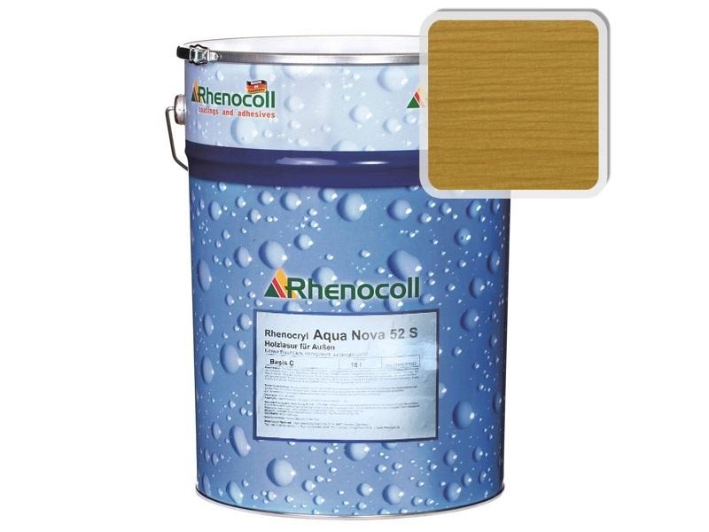 Rhenocoll Aqua Nova 52S Фасадный лак «ДУБ», норма упаковки — 1л