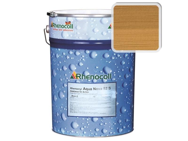 Rhenocoll Aqua Nova 52S Фасадный лак «КЛЁН», норма упаковки — 1л