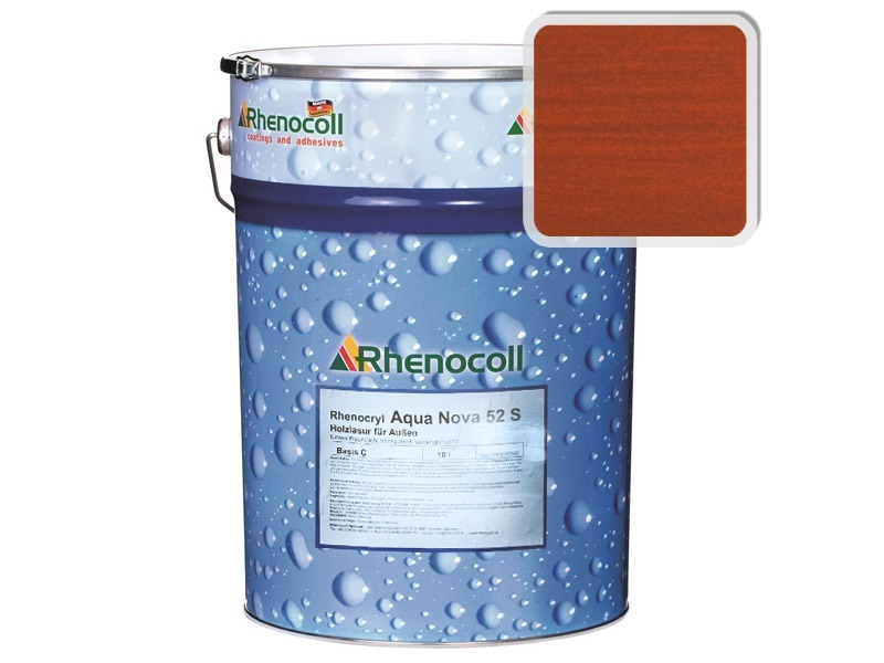 Rhenocoll Aqua Nova 52S Фасадный лак «МАХАГОН», норма упаковки — 1л