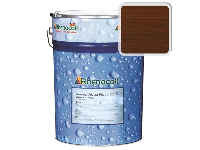 Rhenocoll Aqua Nova 52S Фасадный лак «ОРЕХ», норма упаковки  — 1л