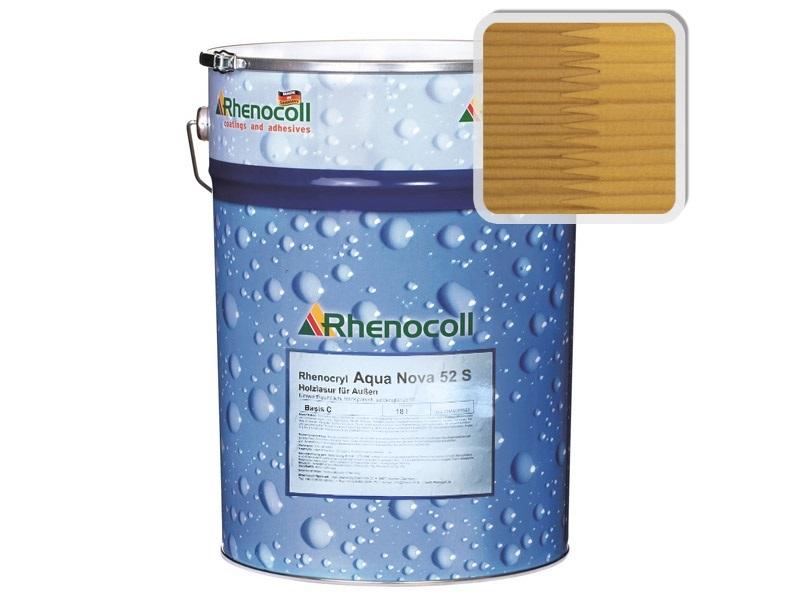 "Rhenocoll Aqua Nova 52S Фасадный лак ""СОСНА"", норма упаковки – 1л"