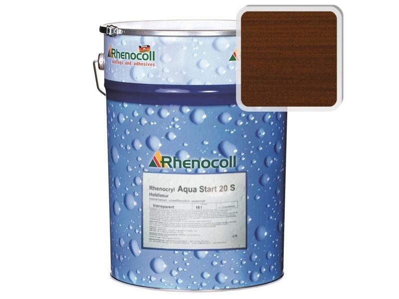 Rhenocoll Aqua Start 20S Фасадный лак «ОРЕХ»,норма упаковки — 1л