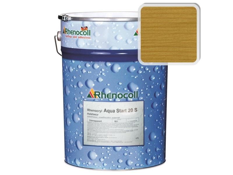 Rhenocoll Aqua Start 20S Фасадный лак «ДУБ», норма упаковки — 1л
