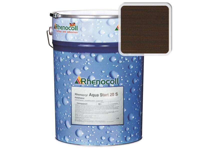 Rhenocoll Aqua Start 20S Фасадный лак «ПАЛИСАНДР», норма упаковки — 1л