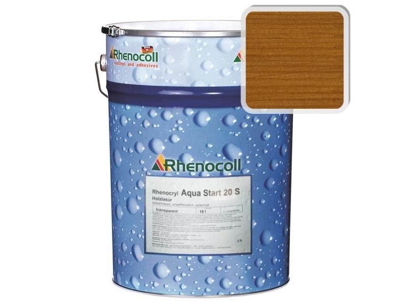 """Rhenocoll Aqua Start 20S Фасадный лак """"ЗОЛОТИСТЫЙ ТИК"""", норма упаковки – 1л"""