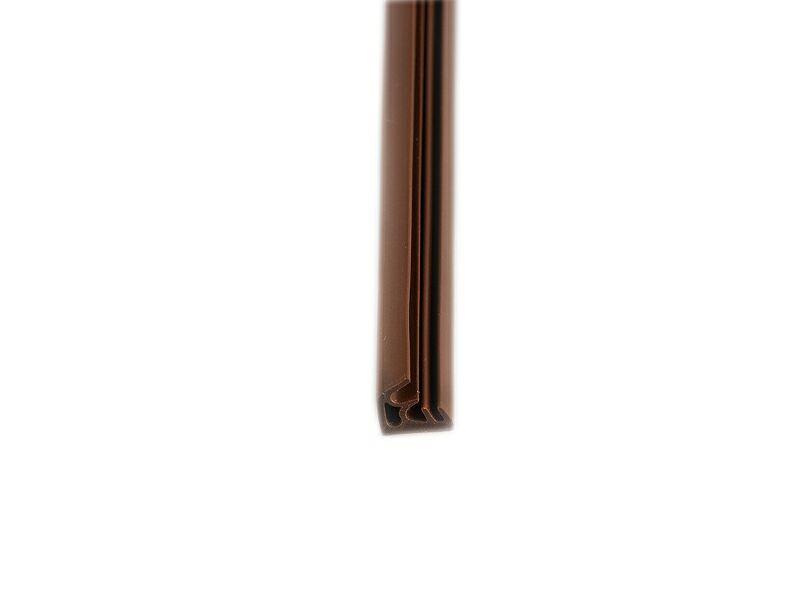 DEVENTER Уплотнитель для деревянных окон S8016 коричневый
