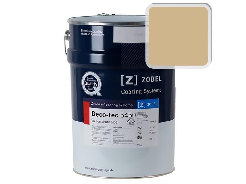 Краска для дерева ZOBEL 5450A RAL 1001, 1 л