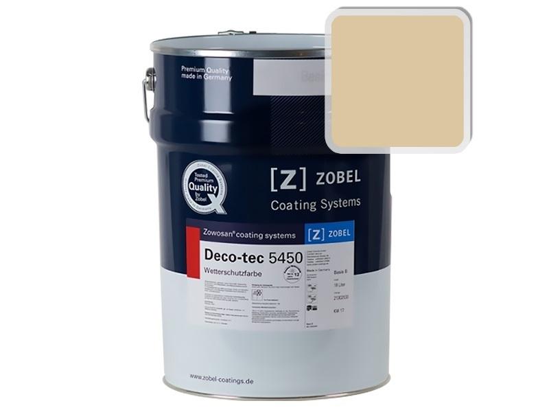 Краска для дерева ZOBEL 5450A RAL 1014, 1 л