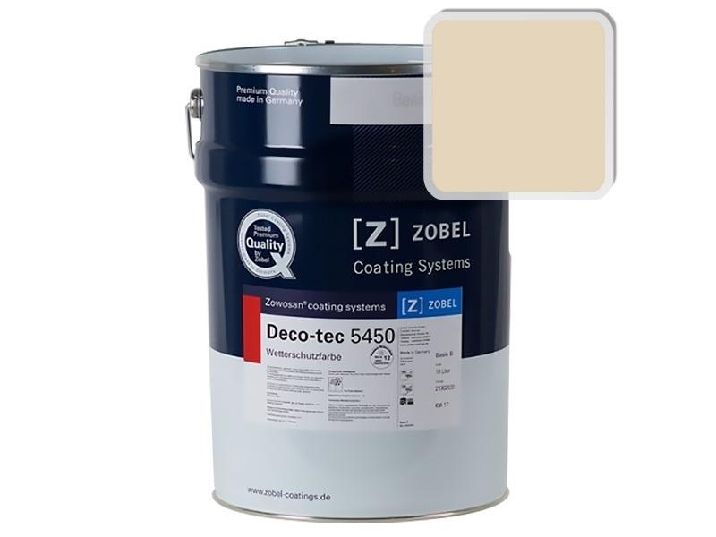 Краска для дерева ZOBEL 5450A RAL 1015, 1 л