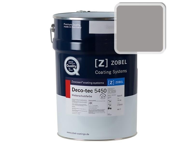 Краска для дерева ZOBEL 5450A RAL 7036, 1 л