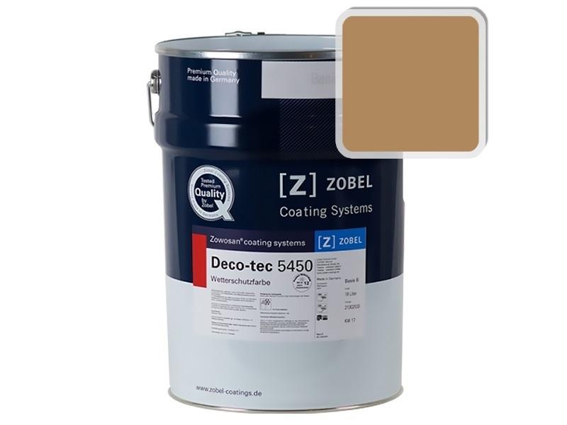 Краска для дерева ZOBEL 5450B RAL 1011, 1 л