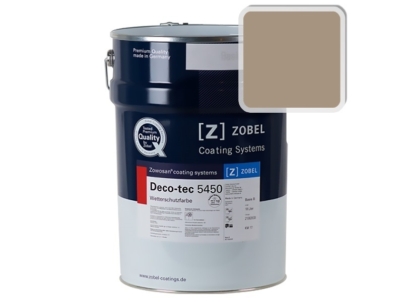 Краска для дерева ZOBEL 5450B RAL 1019, 1 л