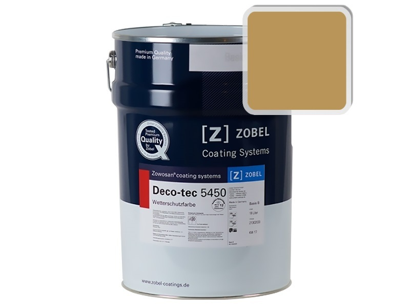 Краска для дерева ZOBEL 5450B RAL 1024, 1л