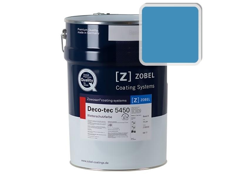 Краска для дерева ZOBEL 5450B RAL 5012, 1 л
