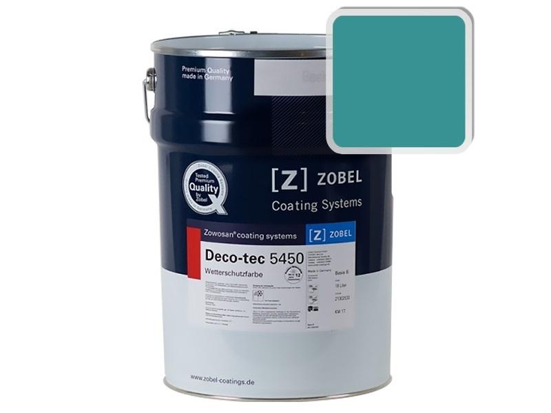 Краска для дерева ZOBEL 5450B RAL 5018, 1 л