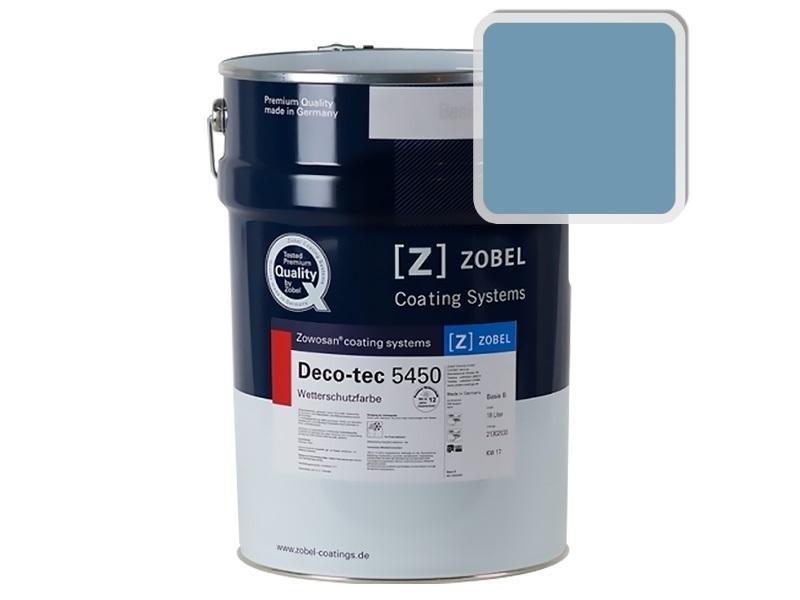 Краска для дерева ZOBEL 5450B RAL 5024, 1 л