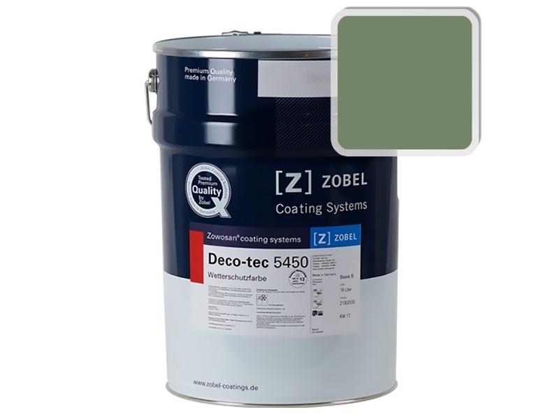 Краска для дерева ZOBEL 5450B RAL 6011, 1 л