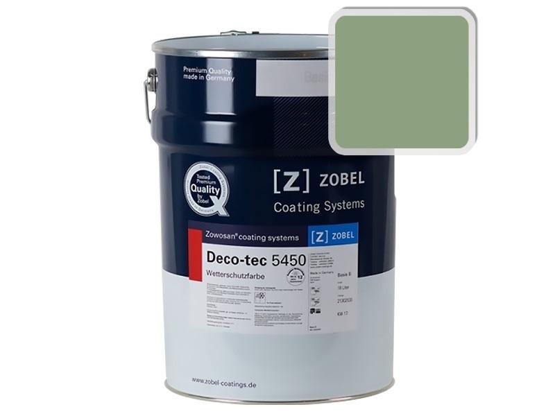 Краска для дерева ZOBEL 5450B RAL 6021, 1 л