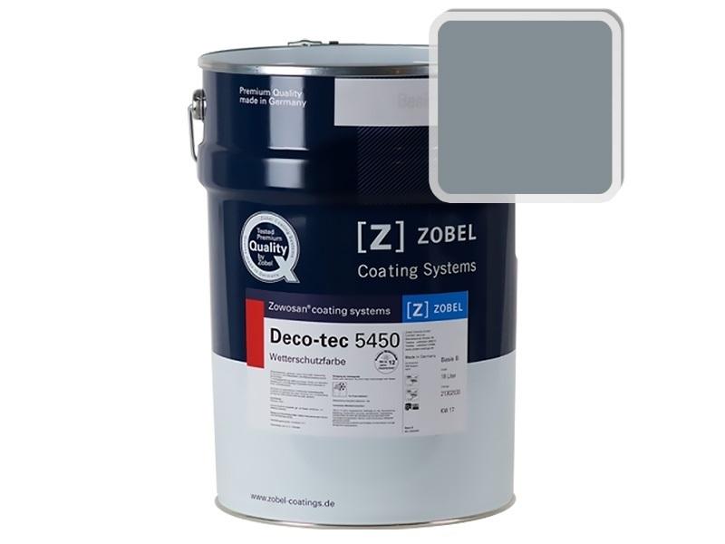 Краска для дерева ZOBEL 5450B RAL 7000, 1 л