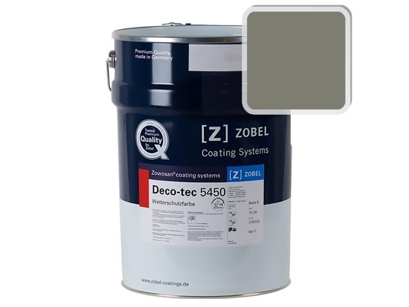 Краска для дерева ZOBEL 5450B RAL 7003, 1 л