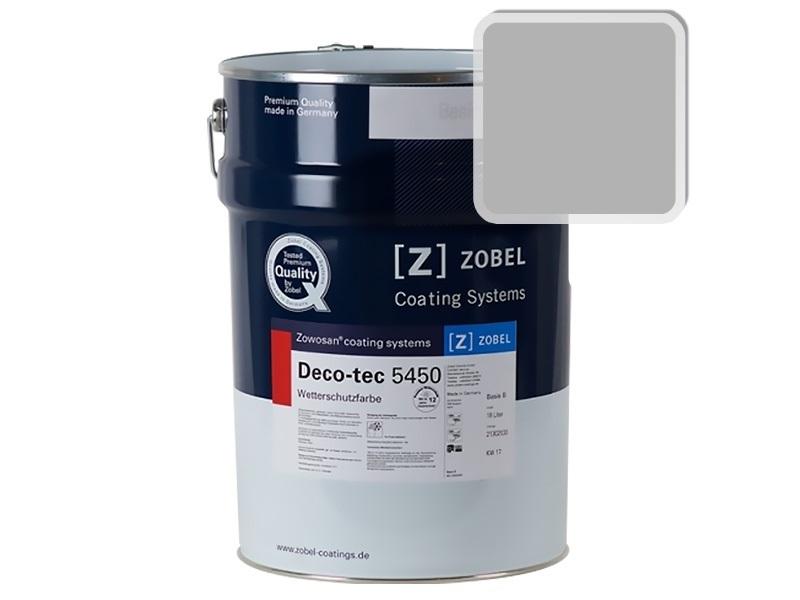 Краска для дерева ZOBEL 5450B RAL 7004, 1 л