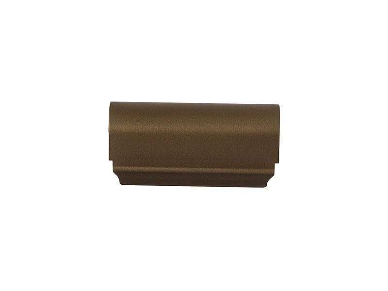 Накладка декоративная верхней петли на створке, W KF, бронза средняя, Siegenia. FKWB0010-031060 (attach1 25305)