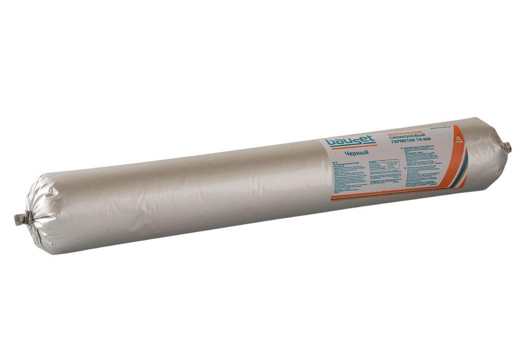 Герметик силикон нейтральный, черный 600мл (thumb6167)